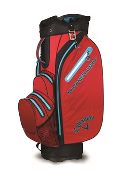 Callaway Hyper Dry Cart Bag 2018 Red/Black/Navy Blue  - Click to view a larger image