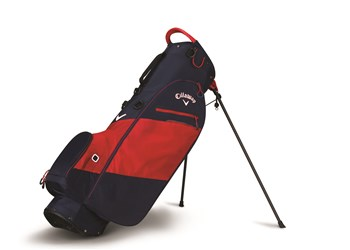 Callaway Hyper Lite Zero Stand Bag 2018 Navy/Red/White  - Click to view a larger image