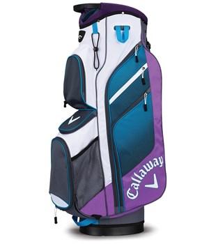 Callaway Chev Organiser Cart Bag Violet/Titanium/White 2018