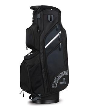 Callaway Chev Organiser Cart Bag Black/Titanium/White 2018