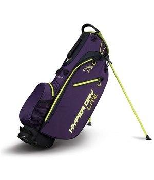 Callaway Hyper Dry Lite Stand Bag Purple/Neon Green/White