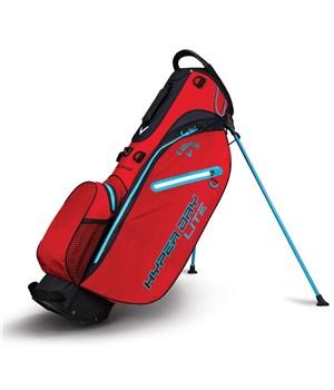 Callaway Hyper Dry Lite Stand Bag Red/Black/Neon Blue 2018
