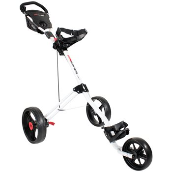 Masters 5 Series 3 Wheel Push Trolley White