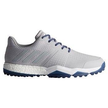 11642ae0f3c5 Adidas Adipower S Boost 3 Shoe Grey Grey Noble Indigo