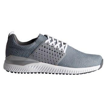 adidas adicross rimbalzare in cuoio grigio / grigio quattro scarpe da golf 3 / ftwr