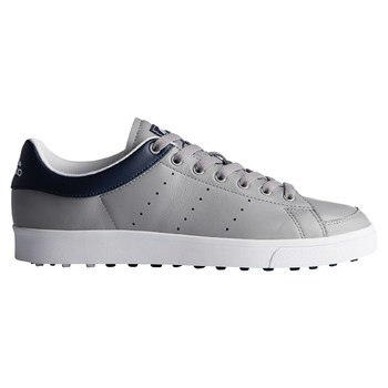 Adidas Adicross Classic Leather Shoes Light Onix/Collegiate Navy