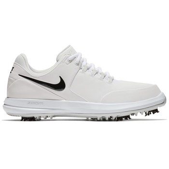 Nike Golf Air Zoom Accurate Shoes White/Black/Metallic Silver