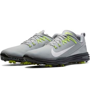 Nike Golf Lunar Command 2 Golf Shoe White/Thunder Blue/Wolf Grey 2018