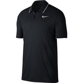 Nike Golf Dry Golf Polo Black/White/White 2018