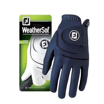 FootJoy Ladies WeatherSof Glove Left Hand Navy 2018