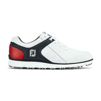 FootJoy Pro/SL Shoes Medium Width White/Navy/Red
