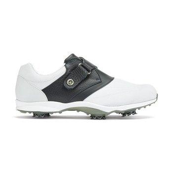 FootJoy Ladies emBODY Shoes Wide Width Black Velcro