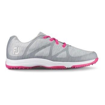 FootJoy Ladies Leisure Shoes Wide Width Light Grey 2018 ... dacd5d180b3