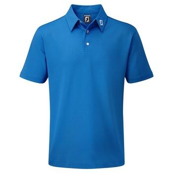 FootJoy Stretch Pique Solid Polo Shirt Cobalt