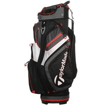 TaylorMade 2.0 Cart Bag Black/White/Red  - Click to view a larger image