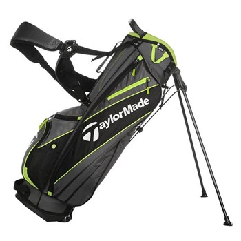 TaylorMade 1.0 Stand Bag Grey Lime  - Click to view a larger image