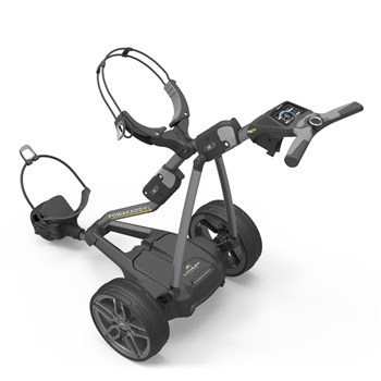 Powakaddy FW7s Electric Golf Trolley 18 Hole Lithium Battery Gun Metal  - Click to view a larger image