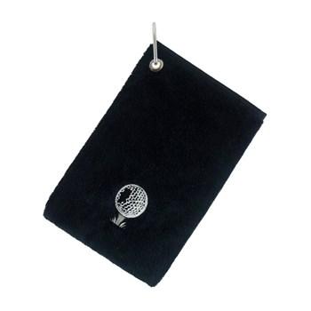 Surprize Shop Bag Towel With Carabiner Black 2018