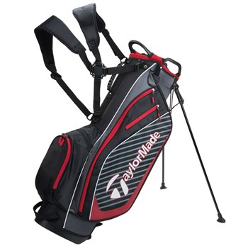 TaylorMade Pro Stand 6.0 Stand Bag Black/Charcoal/Red 2018