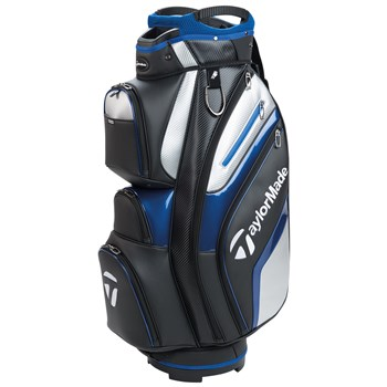 TaylorMade Deluxe Cart Bag Black/Blue 2018