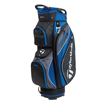 TaylorMade Pro Cart 6.0 Cart Bag Black/Charcoal/Blue 2018