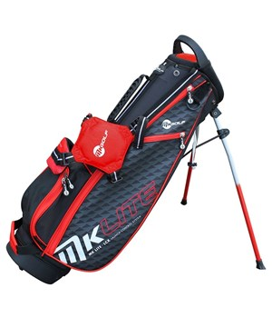 Masters Junior MKids Lite Stand Bag 53 Inch Red   - Click to view a larger image