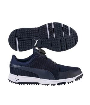 Puma Junior Grip Disc Shoes Peacot/Quarry 2018