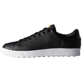 Adidas Junior Adicross Classic Golf Shoes Core Black/Core Black/White