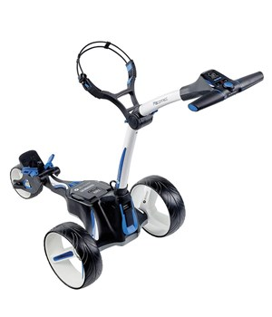 Motocaddy M5 CONNECT Electric Trolley with Standard Lithium Battery Alpine White 2018