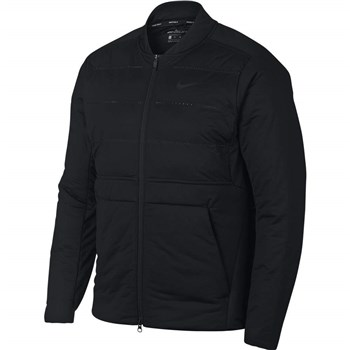 8c366ef1001e Nike Golf AeroLoft Golf Jacket Black 2018 - Click to view a larger image