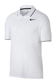4c4ad3902 Nike Golf Dry Polo Essential Solid Polo White Black Black 2018 ...