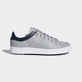 Adidas Junior Adicross Classic Shoes Light Onix/Light Onix/Collegiate Navy   - Click to view a larger image