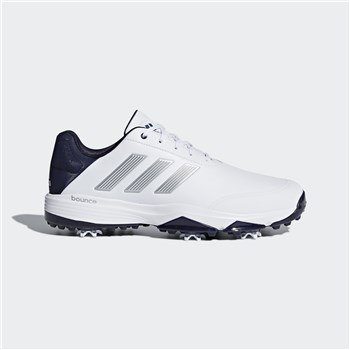 Adidas Adipower Bounce Wide Shoes Ftwr White/Silver Metallic/Noble Ink 2018