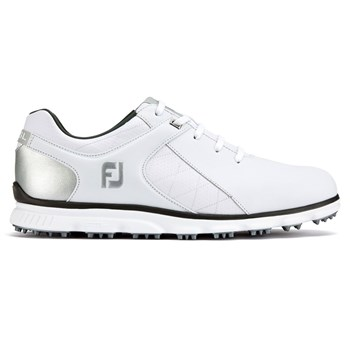 new concept bf451 f4732 FootJoy Pro SL Wide Fit Shoes WhiteSilver