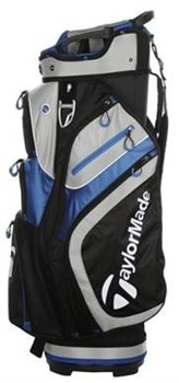 TaylorMade 2.0 Cart Bag Black/Blue  - Click to view a larger image
