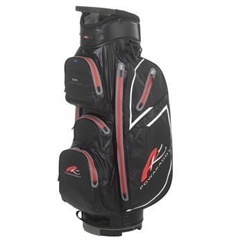 56c6de3d75 Powakaddy Dri Edition Waterproof Cart Bag Black Gunmetal Red ...
