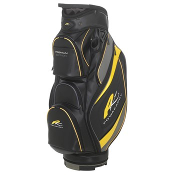 Powakaddy Premium Edition Bag Black/Gunmetal/Yellow