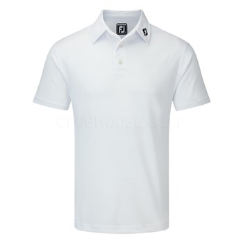 Footjoy Athletic White Corporate Polo Shirt Halpennygolf Com