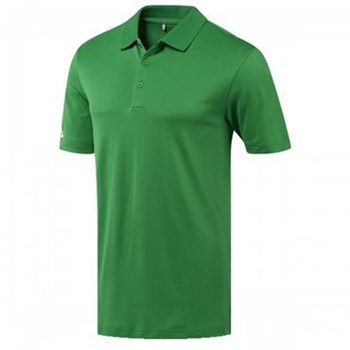 Adidas Performance Green Corporate Polo Shirt  - Click to view a larger image