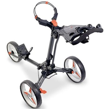 Motocaddy P1 Push Trolley Graphite/Red  - Click to view a larger image