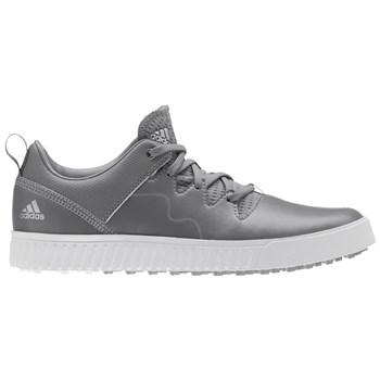 Adidas Junior Adicross PPF Shoes Grey Three/Silver Metallic/White