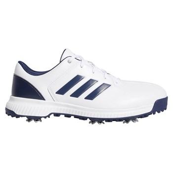 Adidas CP Traxion Shoes White/Dark Blue/Silver Metallic 2019