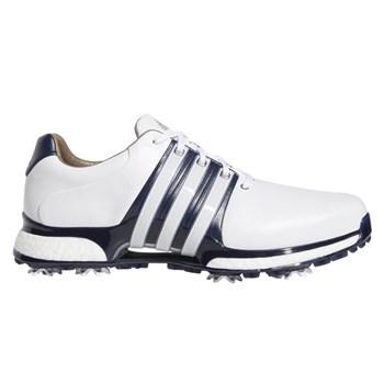 Adidas Tour360 XT Shoes Cloud White/Collegiate Navy/Silver Metallic