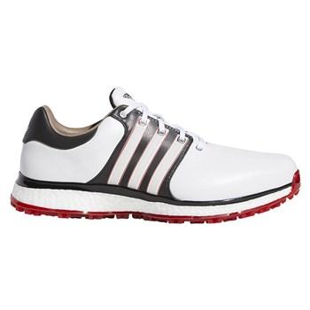 Adidas Tour360 XT-SL Shoes White/Core Black/Scarlet