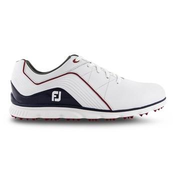 FootJoy Pro SL Shoes Medium Width White/Navy/Red