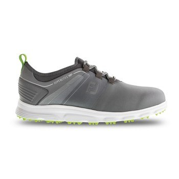 FootJoy SuperLites XP Shoes Grey/Lime 2019  - Click to view a larger image
