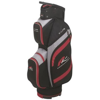 Powakaddy X-Lite Edition Cart Bag Black/Red  - Click to view a larger image