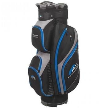 Powakaddy Deluxe Edition Cart Bag Black/Blue  - Click to view a larger image