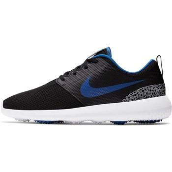 Nike Golf Roshe G Mens Golf Shoes Black/Game Royal/White