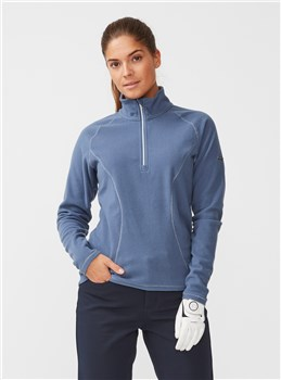 Rohnisch Ladies Micro Fleece Dusty Blue 2019  - Click to view a larger image